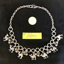 NEW PRICE!!  CHARMING CAMEL CHARM SILVER NECKLACE -- EGYPTIAN?