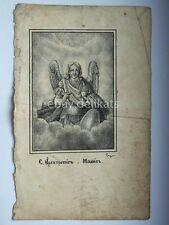 Antico santino da libro antique holy card