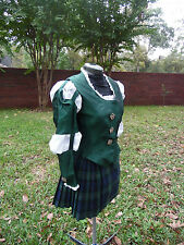 Princess Merida Sexy  Brave Adult  MEDIEVAL  scottish outfit costume WOMAN sz 8