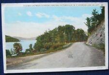 Highway Between Schoon Lake & Pottersville NY 1933 CW Hughes