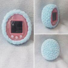 Crochet Tamagotchi case, hecho a mano, 4u/+ P 's Mezcla Color IDL amigos