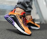 Nike Air Max 2090 Purple Orange Running Shoes Mens BV9977-800