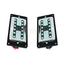Chrome Neck And Bridge Humbucker Pickups Double Coil for Electric Guitar Part