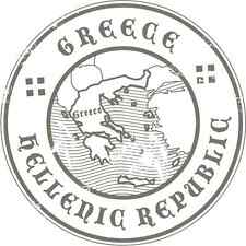 "Greece Travel Hellenic Republic Car Bumper Sticker Decal 5"" x 5"""