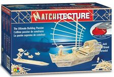 Matchitecture Oriental Boat 6643 Wood Matchstick Construction Model Kit