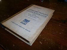 Livre scolaire  litterature comtoporaine de 1850 à nos jours année 1928