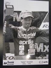 Chesterfield Aprilia Racing Team 250cc 1995 #1 Max Biaggi (I) type 3