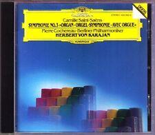 Herbert von KARAJAN: SAINT-SAENS Symphony No.3 Organ PIERRE COCHEREAU DG CD 1982