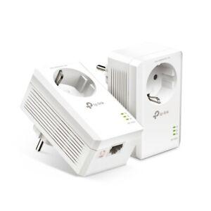 TP-Link TL-PA7017P KIT 2er AV1000 1.000Mbit/s Powerline LAN Adapter Steckdose