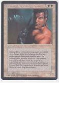 MTG GERMAN BLACK BORDERED VETERAN BODYGUARD NM/M FBB MAGIC THE GATHERING CARD