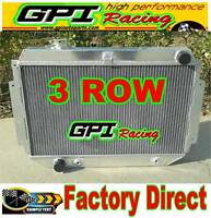 3 ROW GPI ALLOY Aluminum RADIATOR for HOLDEN HQ HJ HX HZ 253 & 308 V8