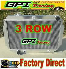 3 ROW GPI ALLOY Aluminum RADIATOR for HOLDEN HQ HJ HX HZ 253 & 308 V8