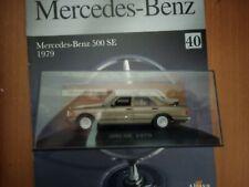 Preciosa miniatura 1:43 Mercedes Benz 500 SE de 1979 de IXO / Altaya.