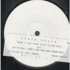 """White Label 45RPM Speed New Wave 12"""" Singles"""