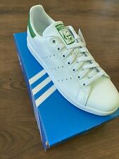 NWB Adidas Originals Men's Stan Smith Shoes Authentic White/Green Size 9