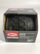 """Bell Sports Gate BMX Tire With Kevlar, 20"""" Black New in Box"""