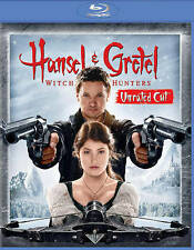 Hansel & Gretel Witch Hunters Unrated (2013) Blu-ray Disc With Case/Artwork