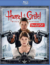 Hansel and Gretel Witch Hunters Unrated Cut Blu-ray DVD Mint
