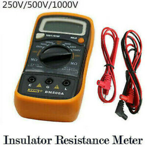 1KV Digital Insulation Resistance Tester Meter Detector Megohmmeter Ohmmeters UK