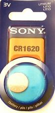 SONY Pile bouton lithium CR1620   1 pcs