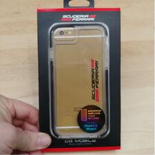 Coque Ferrari Shockproof transparente pour iPhone 6 / 6s