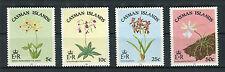 Cayman Island 1985 Fiori flowers orchidee locali  MNH