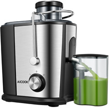 Centrifugal Juicer Fruit Vegetable Wide Mouth Commercial Juice Extractor Machine