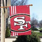 San Francisco 49ers 2' x 3' NFL Licensed Bold Logo Banner / Flag - Free Shipping