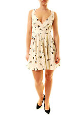 Free People Women's Mini's For You Floral Dress White UK 6 RRP £85 BCF612