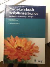 Praxis- Lehrbuch Heilpflanzenkunde,  Neu