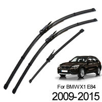 Windshield Windscreen Wiper Blades Front Rear Window Set For BMW X1 E84 09-15