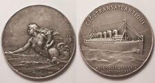 Médaille, Cie Gle Transatlantique, Assemblée générale des Actionnaires !!