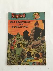 Sigurd Großband 139 Original Lehning unbeschriftet mit SM Zustand 2