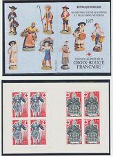 France NEUF 1976 Carnet Croix Rouge 4 Timbres N°1860 et N°1861