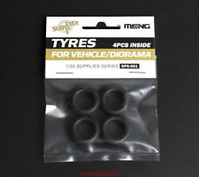 Meng Model 1/35 SPS-001 SCALE TYRES FOR VEHICLE/DIORAMA