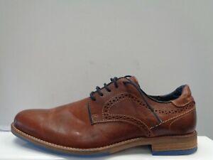 """DUNE London BRAMPTON - Tan Piped Gibson Shoes UK 8 EUR 42 Ref.M1882"""""""