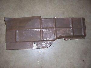 1951 1952 Pontiac 8 interior under seat floor heater duct cover housing rat rod