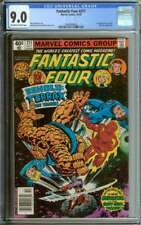 FANTASTIC FOUR #211 CGC 9.0 OW/WH PAGES // 1ST APPEARANCE TERRAX NEWSSTAND 1979