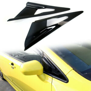 Fit FOR HONDA CIVIC 8th Sedan Side Window Visor Louver Cover 2006-2011