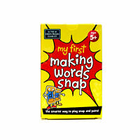 Snap Pairs Cards First Words and Letters Age 5+ Blending Memory Card Game NEW