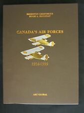 Canada's Air Forces 1914-1999 - 160 pages, b/w & color photos