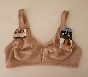 Bali Women's Bra Minimizer Wire-Free DF3335  34C Nude - Tan New