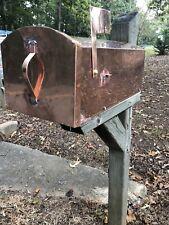 copper mailbox