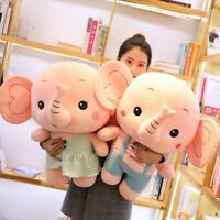 Big Baby Elephant Plush Soft Toys Doll Stuffed Animals Couple Pillow Xmas Gift @