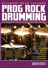 Prog Rock Drumming Ultimate Drum Lessons Series DVD NEW 000321123