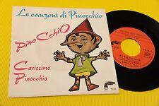 "COMPLESSO I FULL (CANTA MANUELA MONETA) 7"" PINOCCHIO ORIG ITALY 1969 EX !!!"