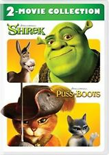 Shrek/Puss In Boots: 2-Movie Collection [New Dvd] 2 Pack