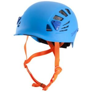 Rock Climbing Helmet Mountaineering Outdoor Caving Rappel Frosted Blue Safety