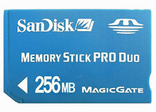 50pc x 256MB Sandisk MS Pro Duo Memory stick Pro Duo Flash Memory Card
