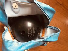 Vintage AMF Classic Pro-Roll Bowling ball and blue bag